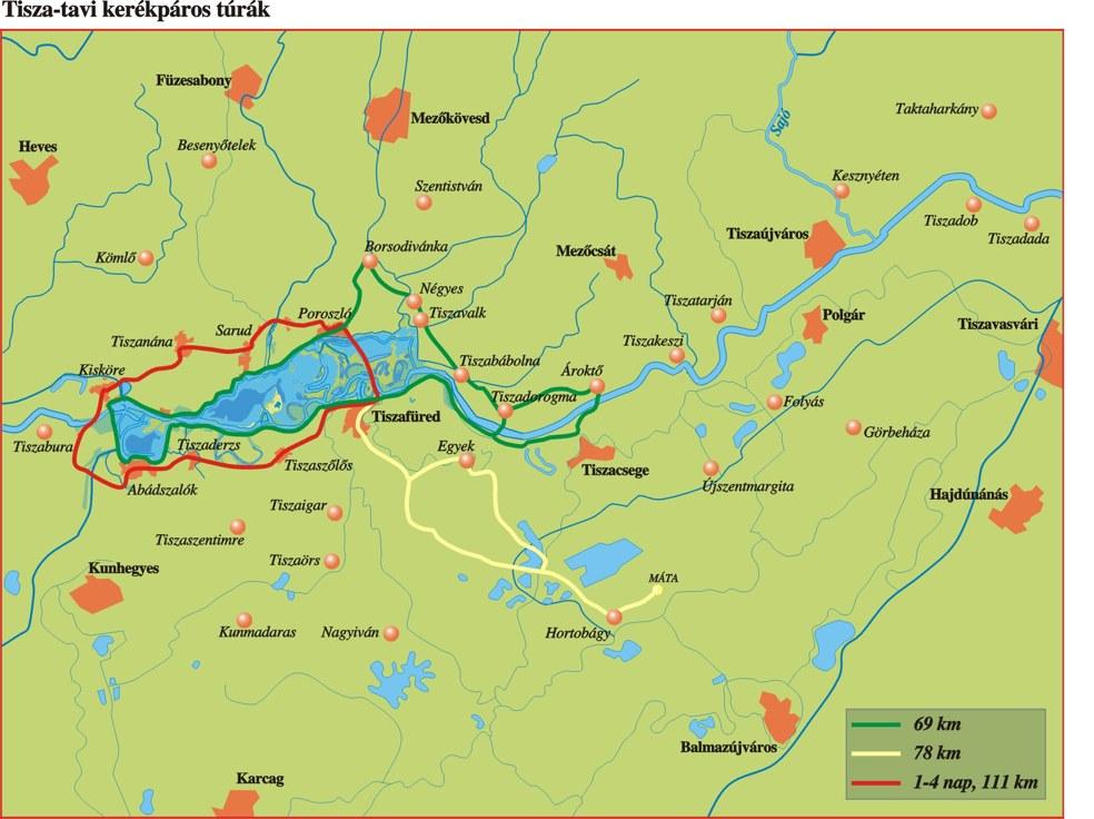 magyarország térkép poroszló Unilever Tömegsport Egyesület   Bakancsos   Tisza tó túra 2018 magyarország térkép poroszló